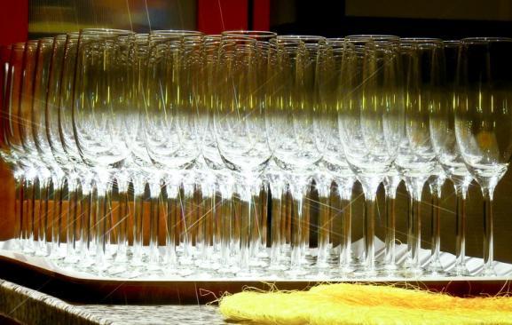 glas champain